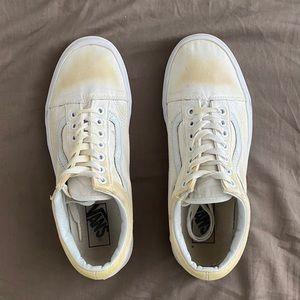 White Vans Old Skools